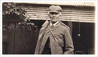 Professor Joseph Bell, inspiration for Sherlock Holmes