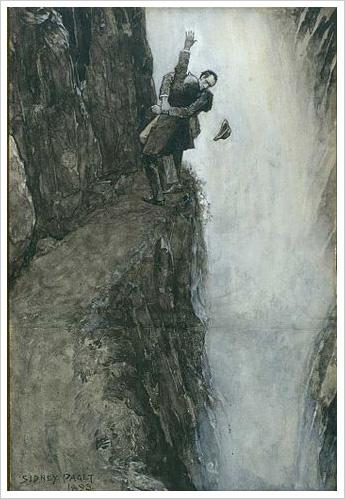 Original Sherlock Holmes Drawing