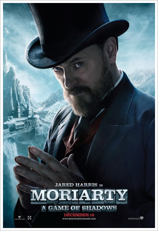 Jared Harris as Moriarty in A Game of Shadows
