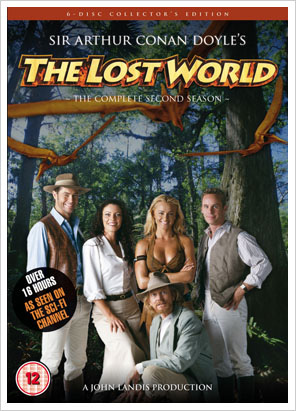 Poster for the 2002 season of New Line's The Lost World